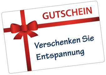 Geschenkgutscheine und Wellness im Therapiezentrum Boostedt