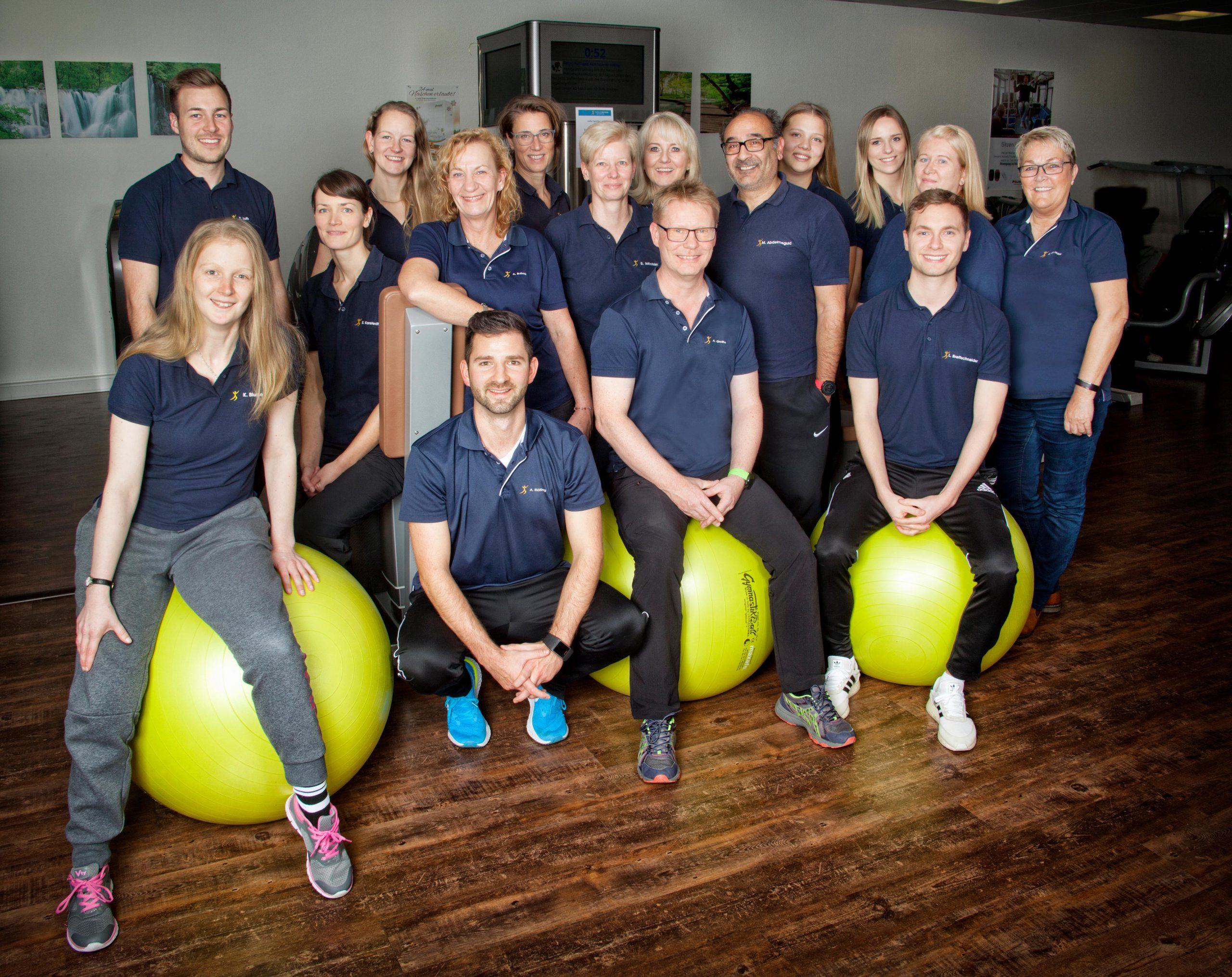 Das Team vom Therapiezentrum Boostedt